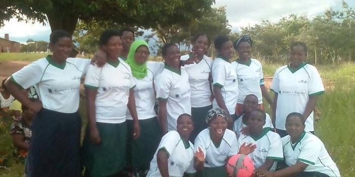 Sport t-shirts voor Kasungu ladies team