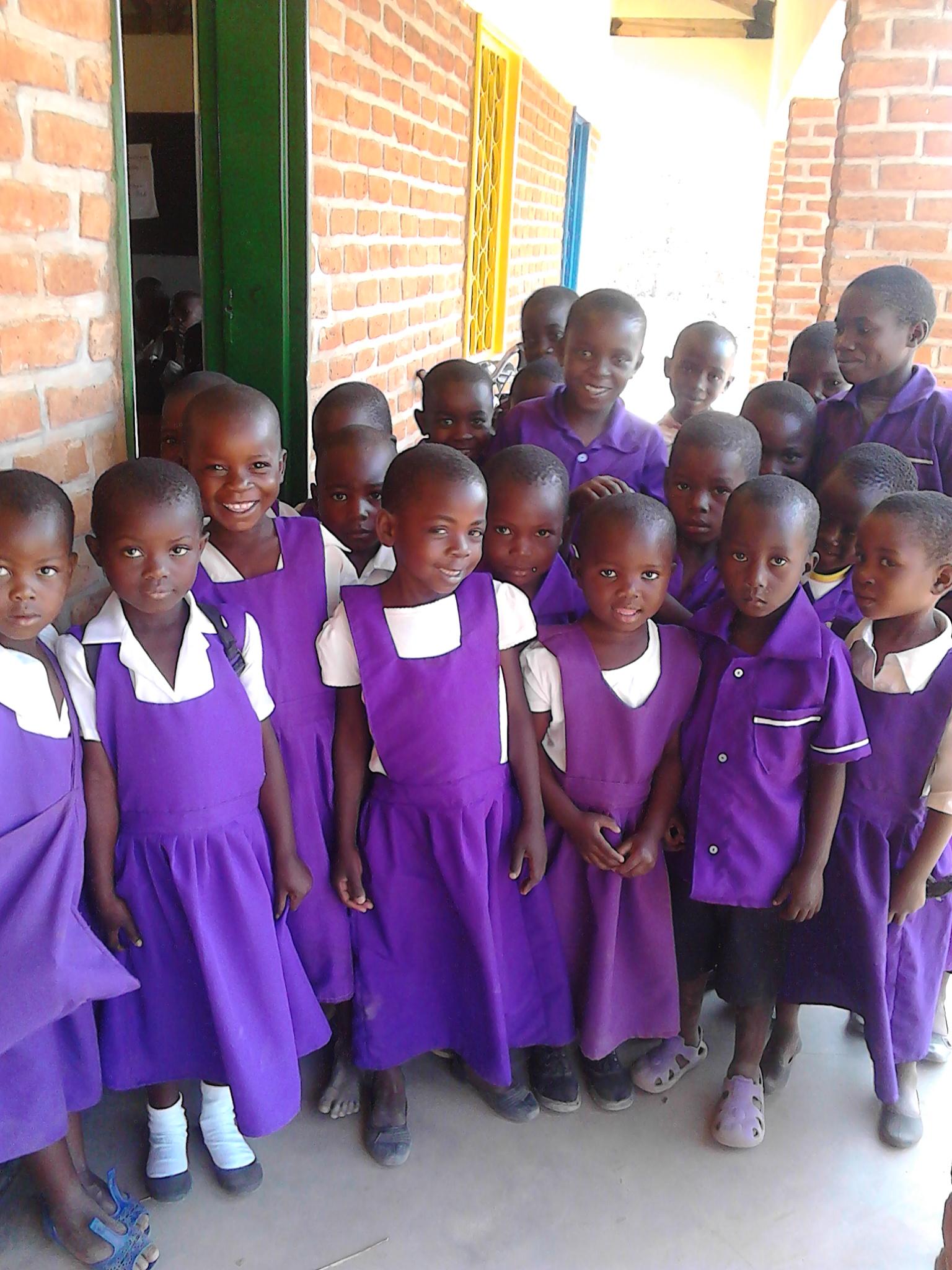 Kadoweke learners, October 2016
