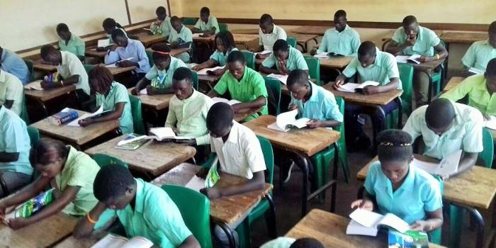 Studeren in de schoolbibliotheek